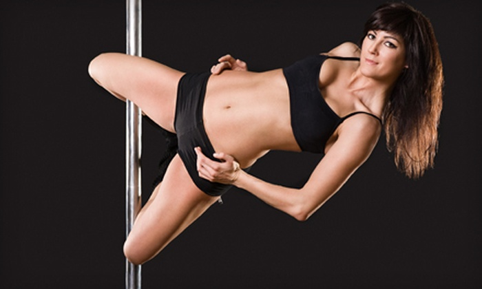 Teaze Dance and Fitness - Downtown Oklahoma City: Three or Six Pole-Dance and Fitness Classes at Teaze Dance & Fitness (Up to 58% Off)