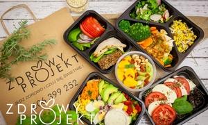 Zdrowy Projekt: Od 159,90 zł za dietetyczny catering z dowozem od firmy Zdrowy Projekt