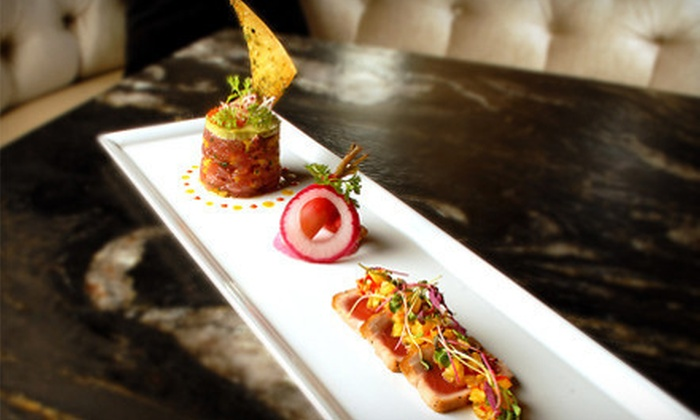 DUO Restaurant & Lounge - Midtown South Central: $79 for a Three-Course Dinner for Two with Wine for Two at DUO Restaurant & Lounge (Up to $206 Value)