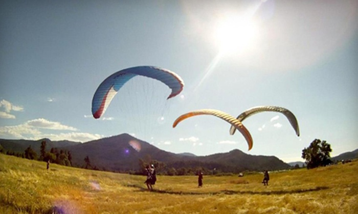 Flying Lizard Paragliding - Midtown: Introductory Paragliding Experience for One or Two from Flying Lizard Paragliding (Up to 55% Off)