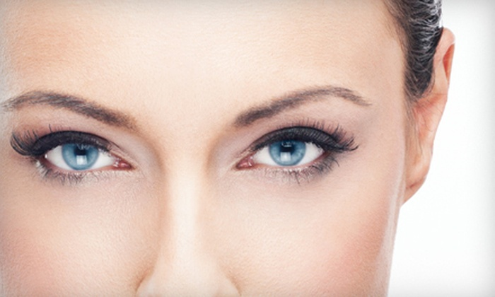 AK Lounge - Northwest Side: Permanent Eye Makeup at AK Lounge (Up to 63% Off). Two Options Available.