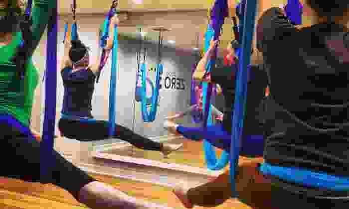 Studio Zero G - St Cloud: Three 60-Minute AntiGravity Yoga Classes (Up to 51% Off)