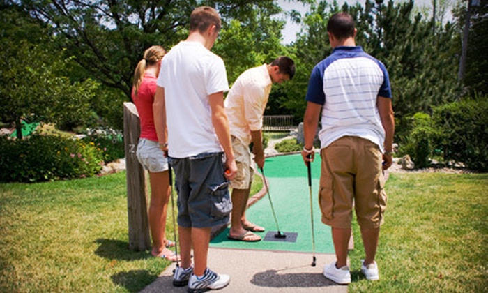 Stop N Sock - Daugherty: Mini-Golf and Driving-Range Outing at Stop N Sock in New Brighton (Up to 53% Off). Two Options Available.