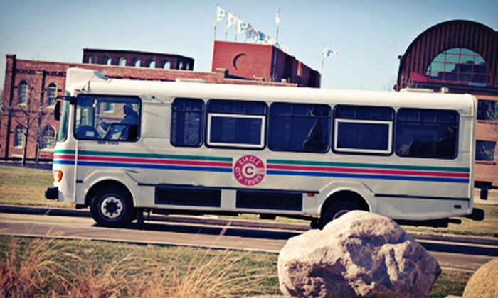 Circle City Tours - Downtown Indianapolis: Adult and Children's Tickets for Bus Tours by Circle City Tours (Up to 53% Off). Three Options Available.