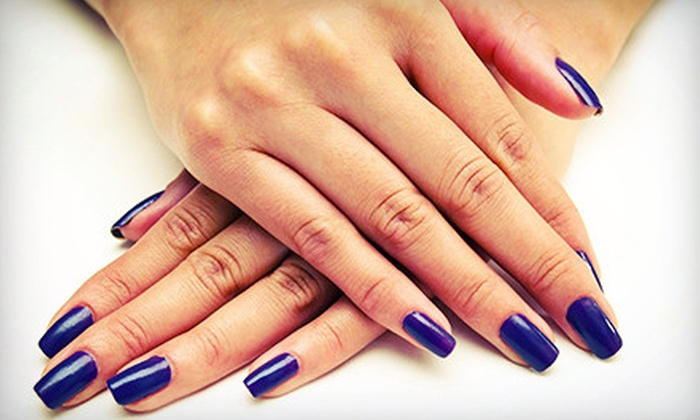 Nails by Courtney - Burbank: Basic Mani-Pedi, One or Two Gel Manicures, or One Acrylic Nail Set at Nails by Courtney (Up to 55% Off)