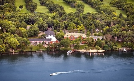 Stay at Heidel House Resort & Spa in Green Lake, WI. Dates into June.