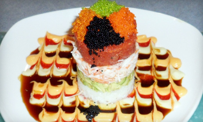 Japanese Grill - North Richland Hills: Sushi and Japanese Cuisine for Lunch or Dinner at Japanese Grill (Half Off)