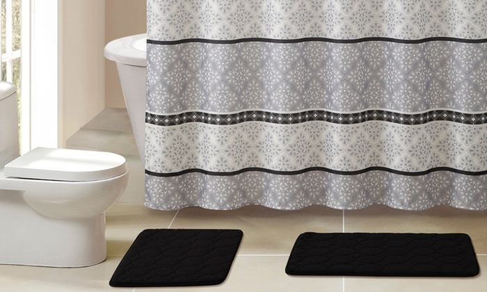 15-piece bath set | groupon goods