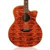 Luna Guitars Gypsy Bubinga-Graphic Acoustic Guitar