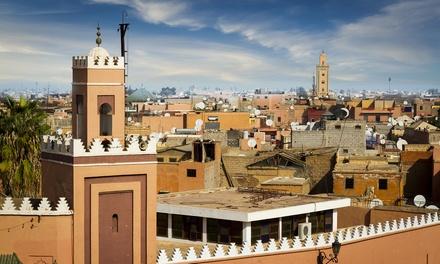 ✈ Marrakech : 3 nuits en hôtel 4* avec petit déjeuner, transfert et vols A/R depuis Bruxelles ou Charleroi