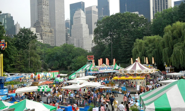 Victorian Gardens At Wollman Rink In Manhattan Ny Groupon