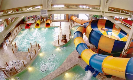 1-Night Stay with Water Park Passes for Each Guest and $25 Resort Credit Per Day at Great Wolf Lodge Niagara Falls