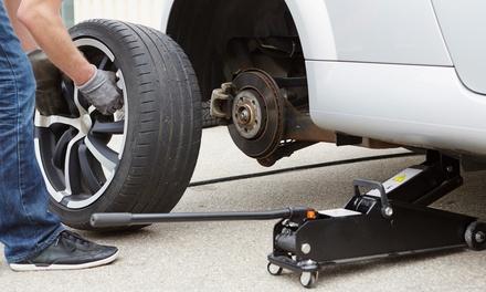 Radwechsel für 4 Räder bei 1 oder 2 Pkw inkl. Auswuchten im Boxenstop (bis zu 56% sparen*)