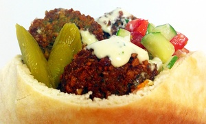 ChickPeas: Mediterranean and Middle Eastern Cuisine at ChickPeas (Up to 40% Off). Two Options Available.