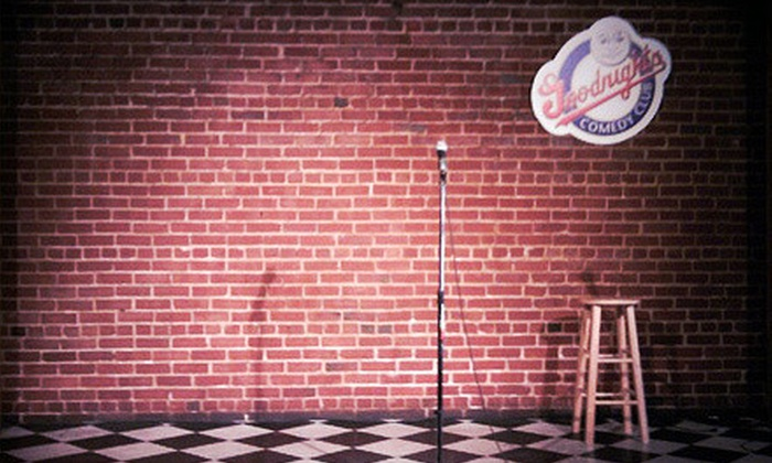 Comedy Show - University: Comedy Show for Two Plus Two Bonus Tickets at Goodnight's Comedy Club (Up to 80% Off)