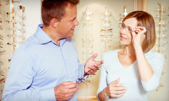 Olsen Vision Care, P.C. - Edmond: $50 for an Eye Exam and $185 Toward a Complete Pair of Eyeglasses at Olsen Vision Care, P.C. ($283 Value)