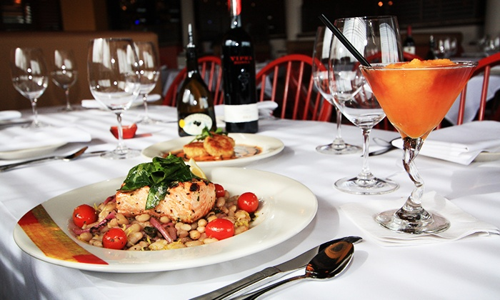 Adriatic Grill - Tacoma: Seasonal Italian Cuisine and Drinks for Dinner at Adriatic Grill (38% Off). Three Options Available.