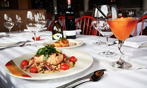 Adriatic Grill: Seasonal Italian Cuisine and Drinks for Dinner at Adriatic Grill (36% Off). Two Options Available.