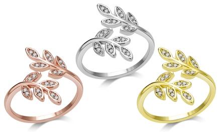 Anello Leaf Ring Philip Jones