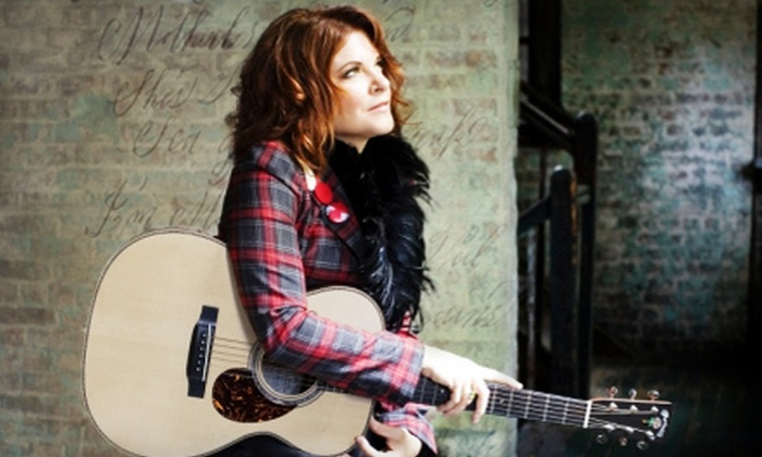 Rosanne Cash  - Central Hamilton: $25 to See Rosanne Cash at Hamilton Place Theatre in Hamilton on August 15 at 8 p.m. (Up to $53.25 Value)