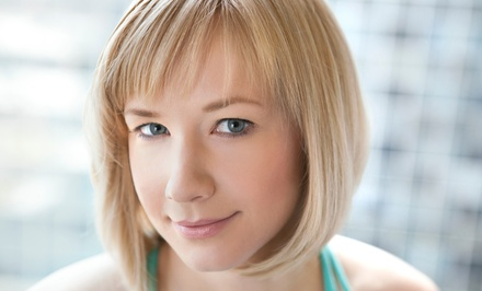 Haircut and Style with Moroccanoil Treatment or Highlights or Color at Cutz Meridian (59% Off)
