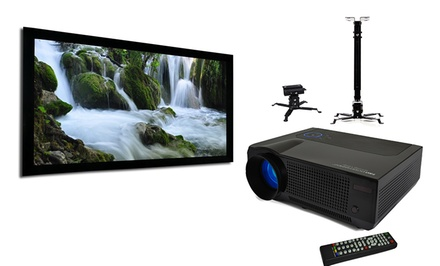 Favi HD Projector Package with 100