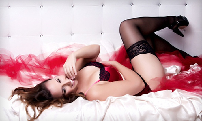 Flash Boudoir - Downtown Scottsdale: Boudoir or High-Fashion Package with Photo Shoot, One Print, and Online Gallery at Flash Boudoir (Up to 77% Off)