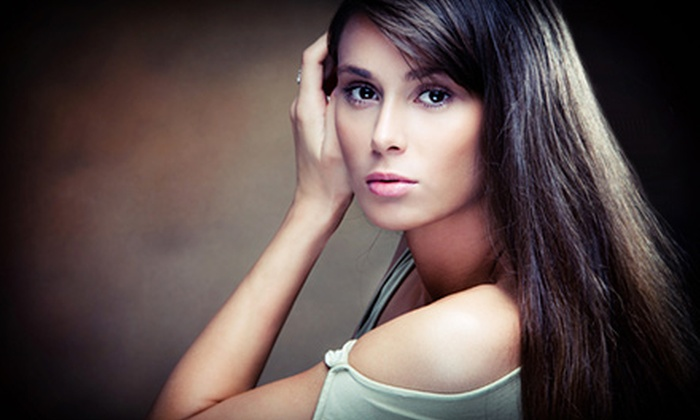 Matisse Hair - Northeast Coconut Grove: Women's or Men's Haircut Package with Optional Color Service at Matisse Hair (Up to 78% Off). Four Options Available.