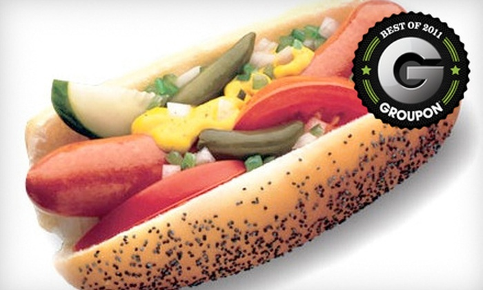 Johnny Chicago's - Midtown: $9 for $18 Worth of Chicago-Style Hot Dogs and Sandwiches at Johnny Chicago's