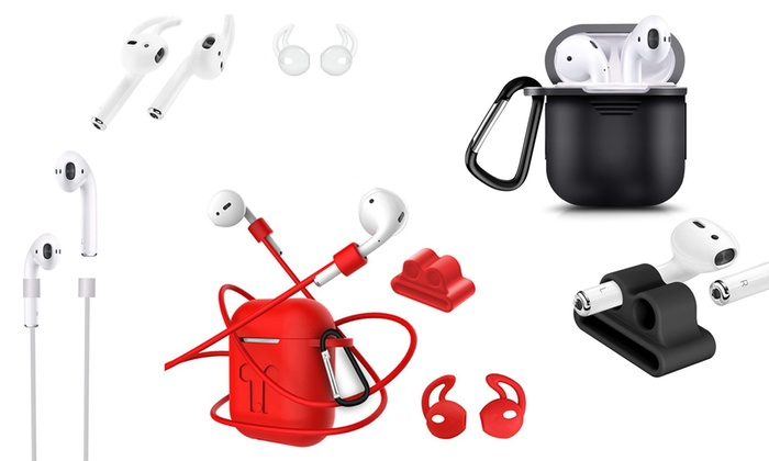 Four-In-One Silicone Kit for Apple AirPods®