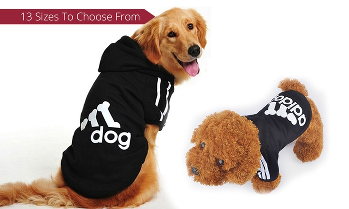 Grabargains: From $9.95 for an Adidog Dog Coat