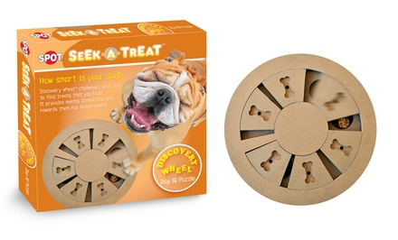 Seek-A-Treat Discovery Wheel Dog Dish