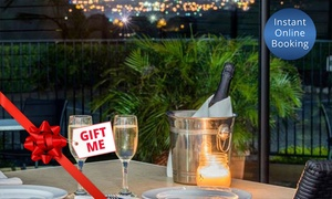 Mercure Charlestown - Bistro Blu: Modern Australian with Wine for Two ($79) or Six People ($237) at Mercure Charlestown - Bistro Blu (Up to $420 Value)