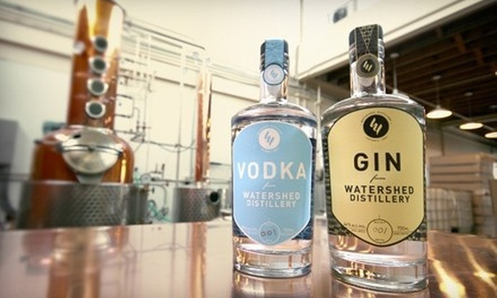 Watershed Distillery - Tri-Village: $12 for a Distillery Tour and T-Shirt for One at Watershed Distillery ($25 Value)