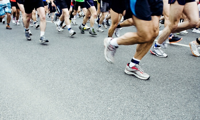 Crossroads Marathon & Mini Marathon - South Gary: Marathon or Half Marathon Entry for One, Two, or Three from Crossroads Marathon & Mini Marathon (Up to 61% Off)