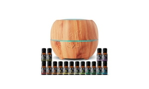 Art Naturals Essential Oil Diffuser with 16 Essential Oils