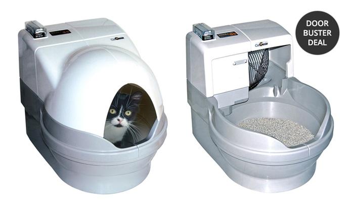 CatGenie Self-Washing Cat Box and GenieDome: CatGenie Self-Washing Cat Box with Option for GenieDome. Free Returns.