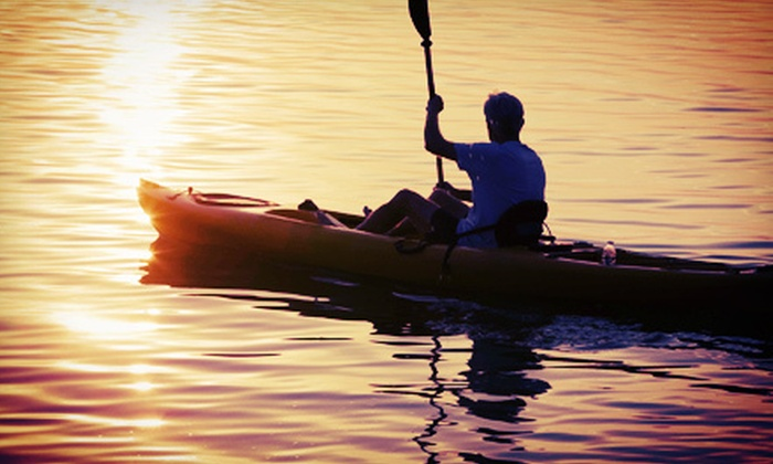 Heavner Canoe & Kayak Rental - Proud Lake Location: $13 for Two-Hour Canoe or Kayak Rental with a Slice of Pizza and Cider from Heavner Canoe & Kayak Rental ($27.50 Value)