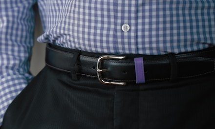 $29.99 for $50 Worth of Custom Men's Belts from BeltCraft