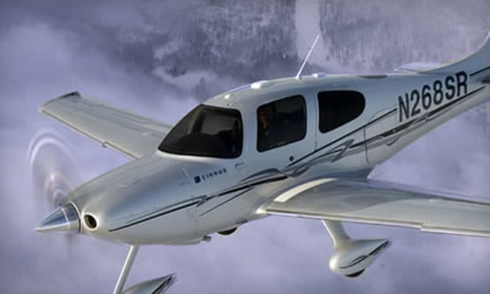 Fly GForce - South Meadows: $125 for a One-Hour Introductory Flight Lesson at Fly GForce ($249 Value)