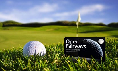 image for Six-,12- or 24-Month Open Fairways Golf Privilege Card from Open Fairways (Up to 73% Off)