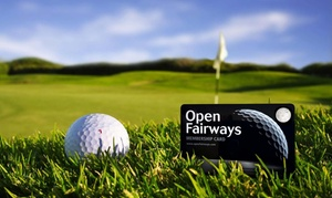 Open Fairways: Six-,12- or 24-Month Open Fairways Golf Privilege Card from Open Fairways (Up to 73% Off)
