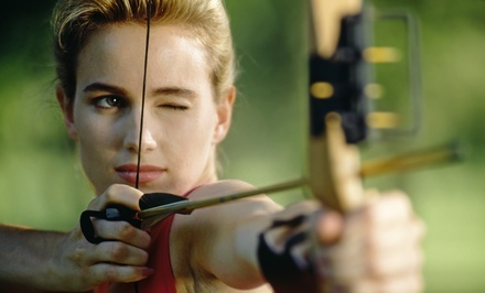 Minneapolis / St Paul: Archery Outing for Two or Four, Six Private Lessons, or a Party for Up to 10 at High Five Archery (Up to 61% Off)