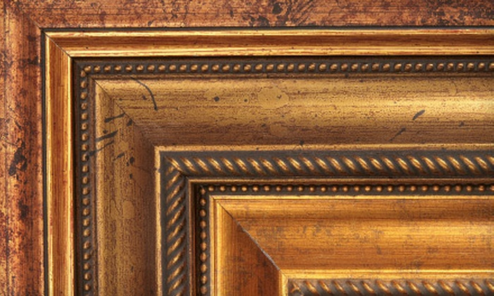 Decor Art Gallery - East Village,Midtown,Gramercy-Flatiron: Framing Services at Decor Art Gallery (Up to 76% Off). Two Options Available.