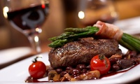 Sharing Platter and a Bottle of Wine for Two or Four at Baluga Bar (Up to 45% Off)