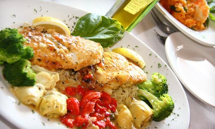La Notte Due - Darien: $15 for $30 Worth of Italian Dinner Cuisine at La Notte Due in Darien