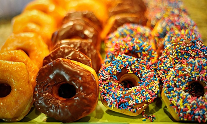 Donuts, Yogurt & More - Elk Grove: One-, Two-, or Four-Dozen Donuts and Bagels at Donuts, Yogurt & More (Up to 62% Off)