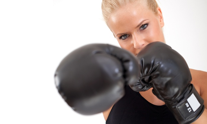 KC's Fitness - Allen: One-Month Women's Boxing Membership for One or Two at KC's Fitness (Up to 74% Off)