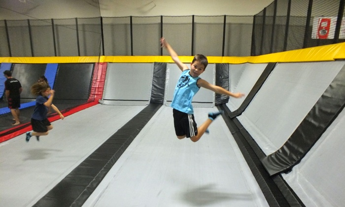 Cloud 10 Jump Club - Santa Barbara: Two-Hour Open Jump Session for Two or Four at Cloud 10 Jump Club (Up to 41% Off)