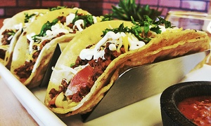 Agave Mexican Grill: Mexican Food and Drinks for Two or Four or More at Agave Mexican Grill (40% Off)